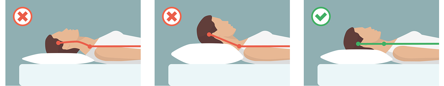 rugslaper, slapen op je rug, slaaphouding