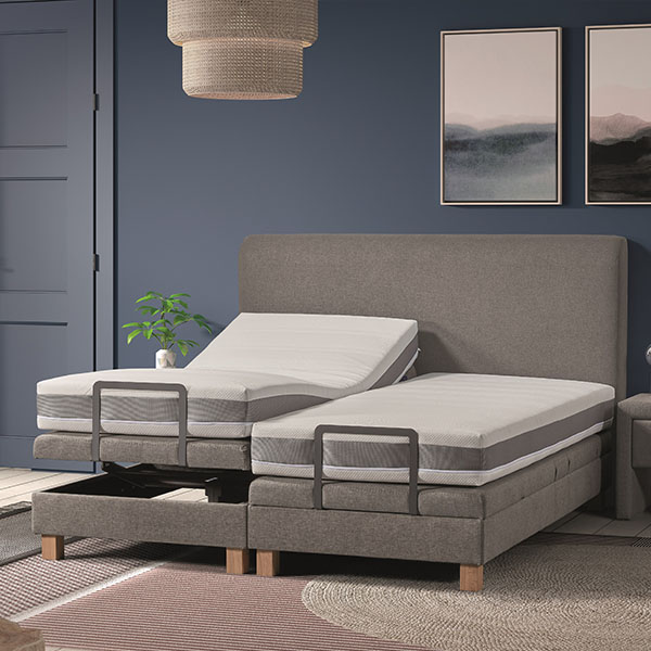 Ons elektrisch verstelbare boxspring Be-Comfy